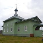 Возрождённый Свято-Троицкий храм с. Тетрино