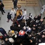 Ковчег с мощами Святых в центре Свято-Андреевского храма