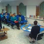 Участники Рождественских чтений в ГБ Центр-Книга библиотекари, педагоги, представители Североморской Епархии