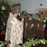 Молебен в военном госпитале г.Заозерск