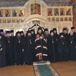 Соборная Литургия в монастыре