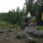 Пограничный знак Муоткаваара