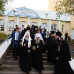 Посещение Святейшим Патриархом духовно-просветительского центра.
