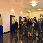 Пресс-конференция накануне открытия выставки