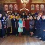 Участники первой за 86 лет Литургии в Кузомени