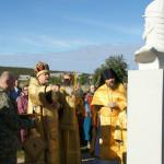 Освящение памятника