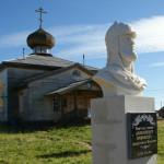 Памятник Александру Невскому - покорителю Биармии