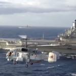 Авианосная группа СФ в Средиземном море.