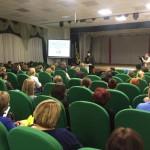 Выступление епископа Североморского и Умбского на Муниципальном родительском собрании