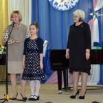 Спецприз от Совета депутатов вручен воспитаннице североморской музыкальной школы Софье Кошкаревой.